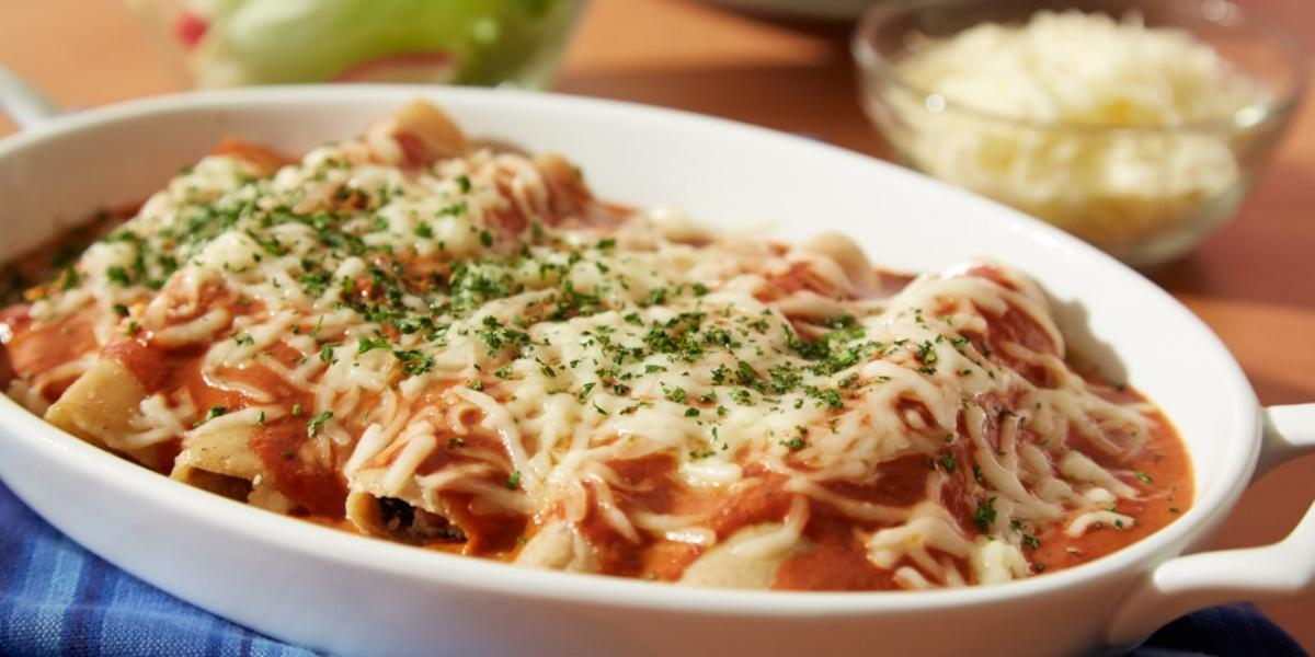 Enchiladas rojas 1